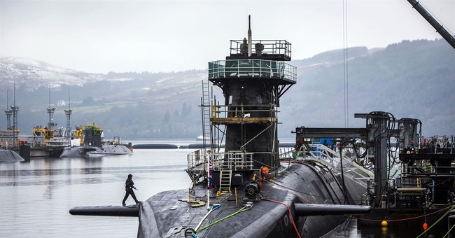 UK Parliament votes to renew submarine-based nuclear arsenal