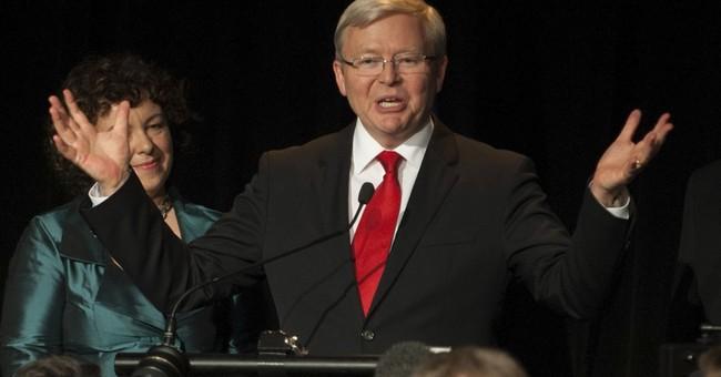 Former Australian leader wants nomination for UN top job