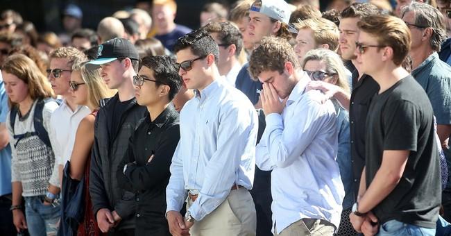 Berkeley student killed in Nice honored at campus vigil