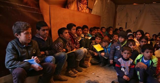 Group: Half of Syrian refugee kids in Lebanon not in school