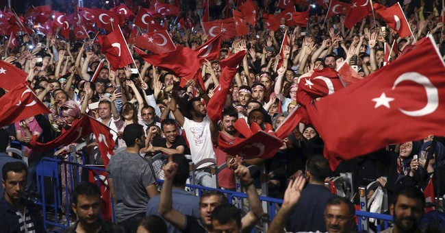 The Latest: Erdogan supporters rally for 5th straight day