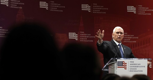 Pence seeks to reassure conservatives about Trump