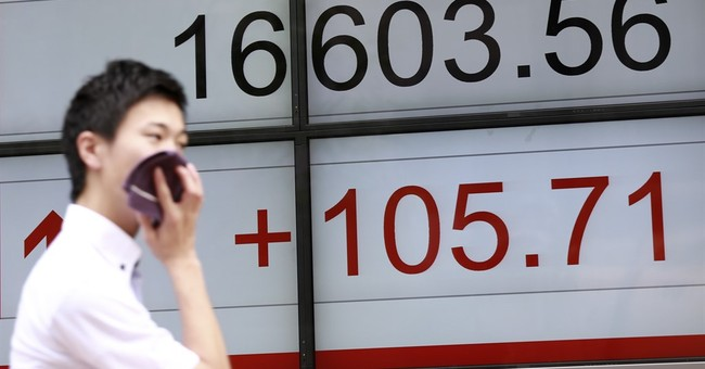 World stocks mostly drop, Japan enjoys Pokemon-inspired rise