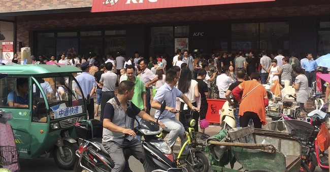 KFC, Apple in China hit by South China Sea spat