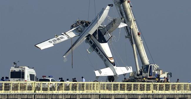 Seaplane crashes on inaugural flight in China, killing 5
