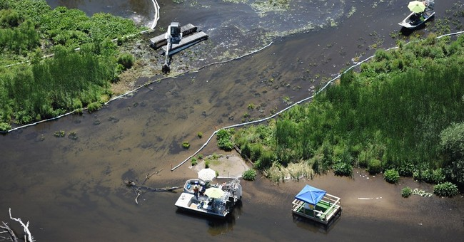 The Latest: Enbridge to pay $176M for Michigan oil spill