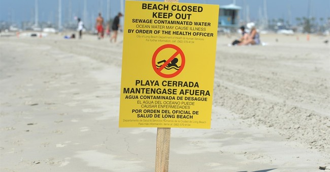 The Latest: 1 beach reopens after Los Angeles sewage spill