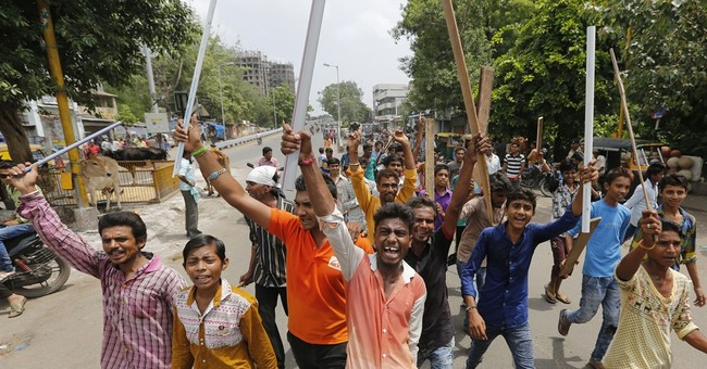 Indian lawmakers in uproar over attacks on lower castes