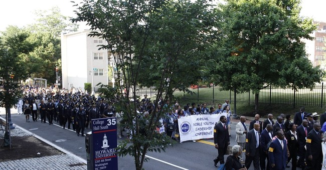 Black law enforcement leaders march for fallen officers