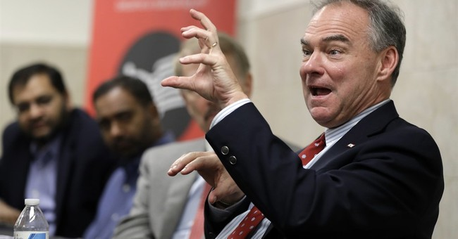 AP Sources: Kaine emerges as favorite in Clinton's VP search
