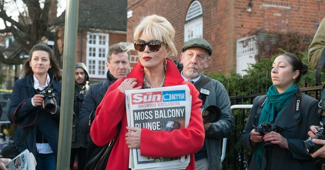 Review: 'Absolutely Fabulous' delights in the outrageous