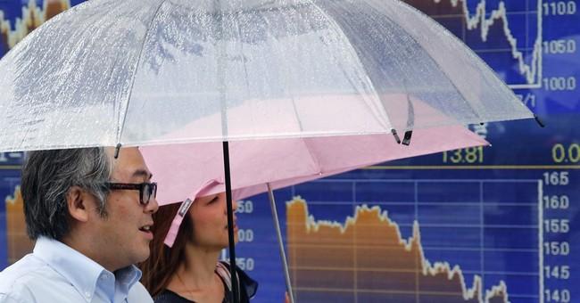 European stocks down as ECB leaves interest rates on hold