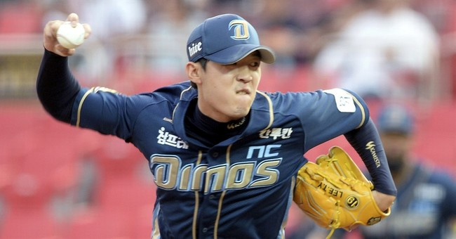 Star South Korean pitcher charged in gambling case