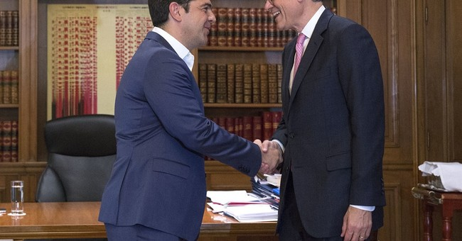 US Treasury chief stresses need for Greek debt relief