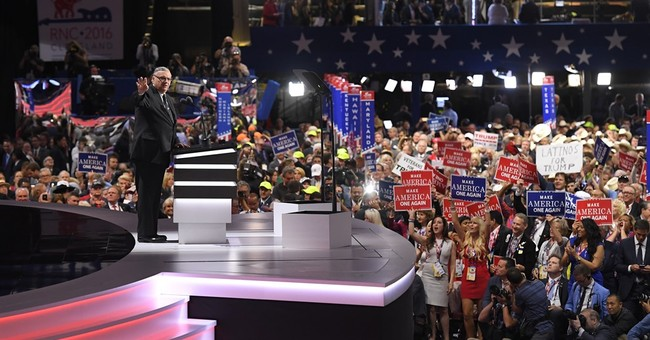 Arizona Sheriff Joe Arpaio gives speech at GOP convention