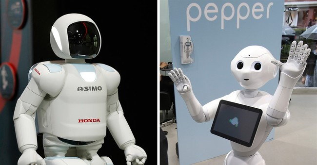 Asimo meets Pepper: Honda and Softbank partnering in robots