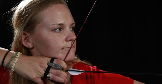 US archer takes aim at South Korea's reign in women's event