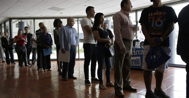 18 states see significant job gains, but unemployment rises