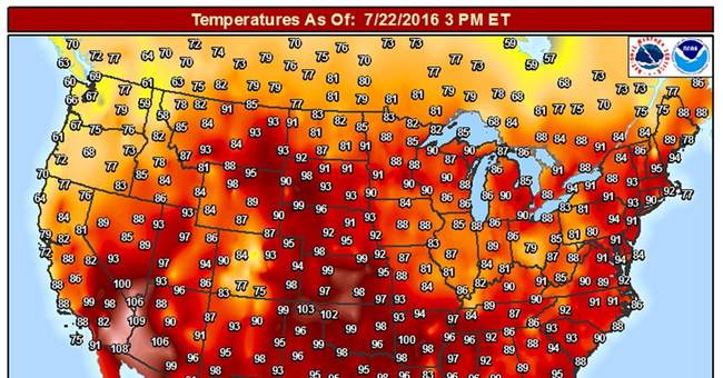 'Merciless' heat, humidity sticks to nearly all of US