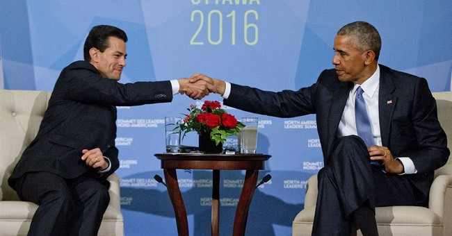 Obama, Mexican president stress importance of relationship