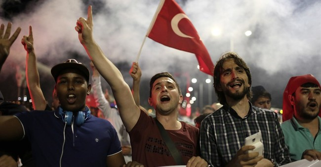 The Latest: Power restored to Incirlik air base in Turkey