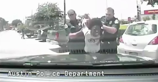 Black Texas woman seeks unity as white officers investigated