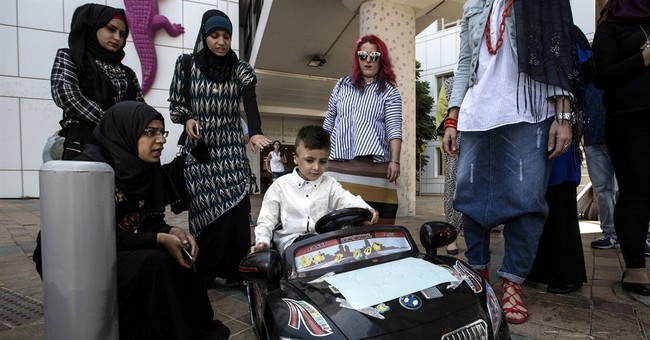 Palestinian boy who survived 2015 firebomb attack goes home