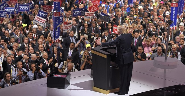 Making GOP history, Trump vows to protect LGBTQ community