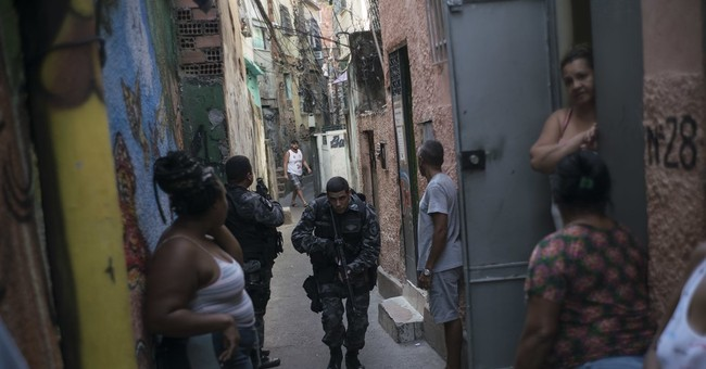 AP PHOTOS: In Rio slums, gangs, drugs, murders carry the day