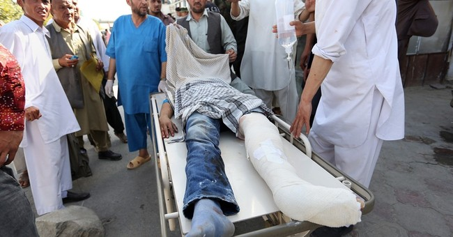 IS attacks protest in Afghan capital, kills 80 people