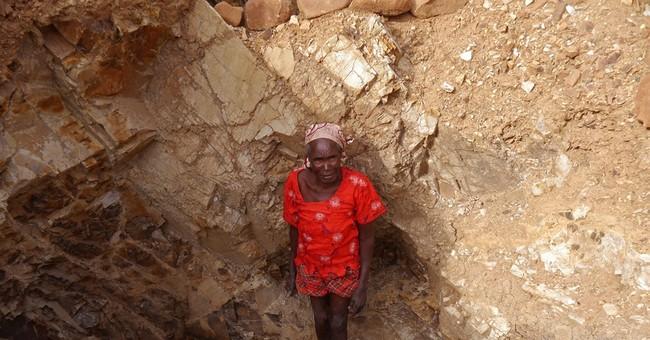 Elderly women risk lives crushing rock for money in Cameroon