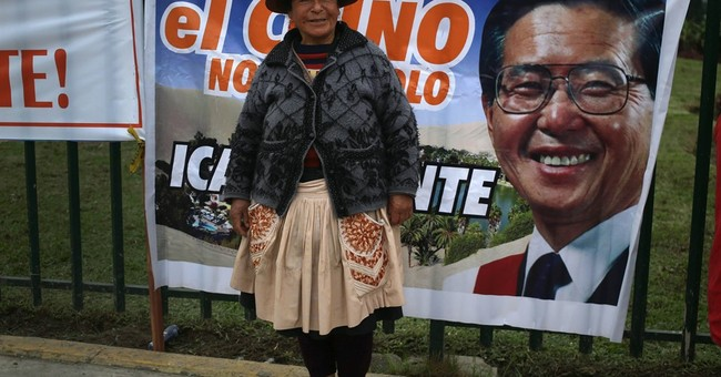 Peru's jailed former President Alberto Fujimori seeks pardon