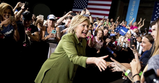 For Clinton, concern lingers over enthusiasm for candidacy