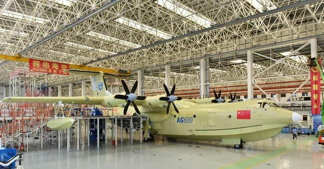 China rolls out world's largest amphibious aircraft