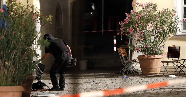 Bavarian official: Ansbach attack suggests Islamist motive