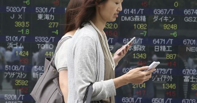 Asian stocks mixed after Wall Street decline