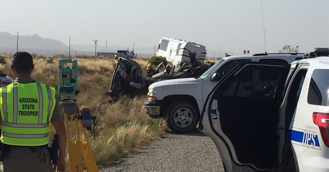 Van in wreck with Dallas Cowboys staff bus was turning left