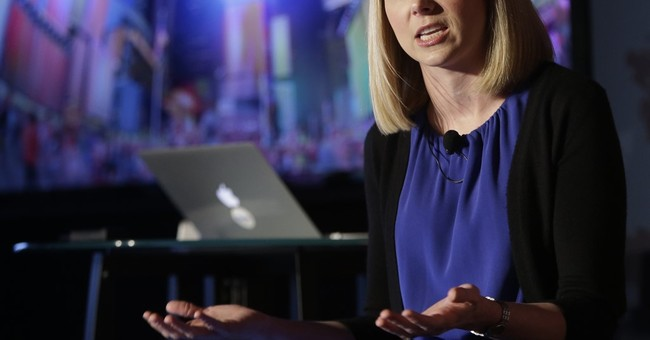Yahoo's Mayer: A trailblazer, but no game-changer for women