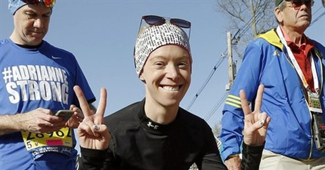 Boston Marathon bombing amputee scales mountain in Ecuador