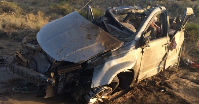 Officials name 4 Chinese nationals killed in Arizona crash