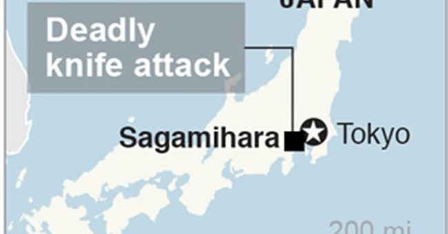 The Latest: Japan attack victims included 10 women, 9 men