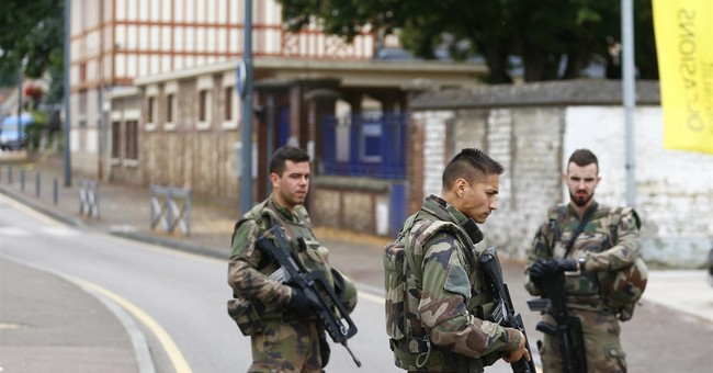 IS group claims attack that killed 85-year-old French priest