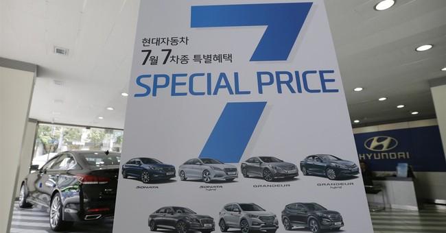 Hyundai Motor reports 10th straight quarterly profit drop