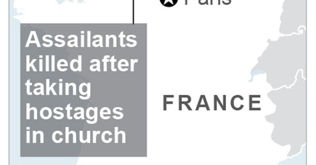 The Latest: Archbishop of Rouen: Slain priest was 84