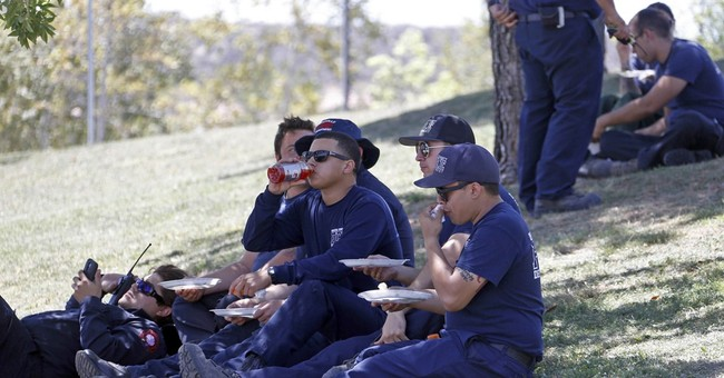 Busy camps serve needs of front-line California firefighters