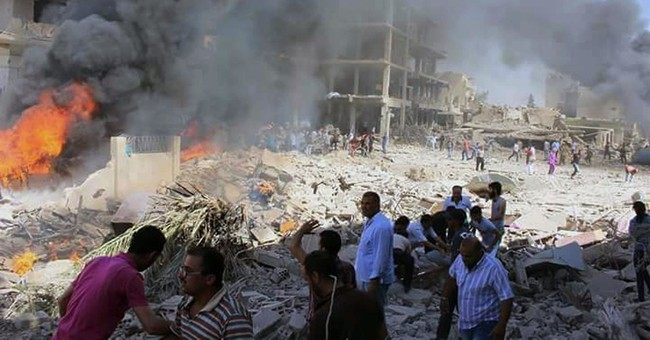 IS suicide attack in mostly Kurdish Syria town kills 44