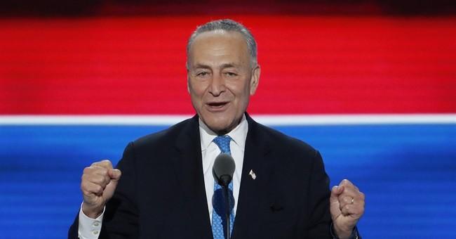 Schumer prepares to be Senate leader, or Trump antagonist