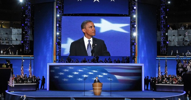 Obama returns to convention stage to make case for Clinton