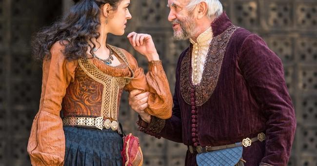 Jonathan Pryce makes 'Merchant of Venice' a family affair