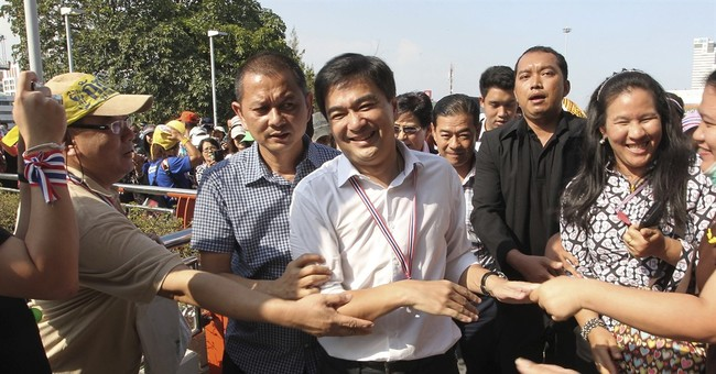Ex-Thai PM opposes army-proposed constitution up for vote